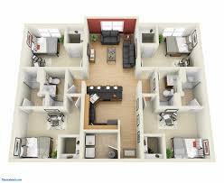 bungalow floor plans 4 bedroom bungalow floor plans 3d one in nigeria 2018 with
