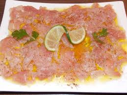 cuisiner thon frais les meilleures recettes de carpaccio et thon