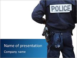 police department powerpoint template u0026 backgrounds id 0000007638