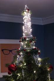 Eiffel Tower Decoration Ideas 8 Beautifully Unusual Christmas Tree Topper Ideas