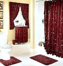 Bathroom Window And Shower Curtain Sets Bathroom Window Curtain Sets Bathroom Shower Curtain Sets Floral