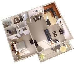 One Bedroom Apartments Floor Plans by One Bedroom Apartments With Balcony Topaz House