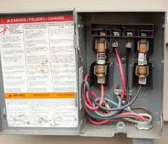 electrical specs for installing ductless mini at ac disconnect