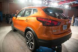 orange nissan rogue 2017 nissan rogue sport qashqai debut to join the small crossover