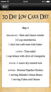app shopper 30 day low carb diet meal plan food u0026 drink