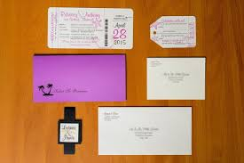 Boarding Pass Wedding Invitations Boarding Pass Invitations For A Destination Wedding
