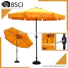 Orange Patio Umbrella by 3m Garden Umbrella Round Crank Open Parasol Promotion Outdoor