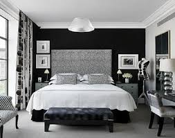 black and white bedroom accent wall paint ideas painting an