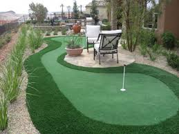 backyard putting green lighting backyard golf greens artificial turf grass synthetic lawn pics on