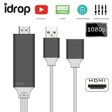 android phone to hdmi idrop phone to hdmi digital av cable adapter for iphone samsung