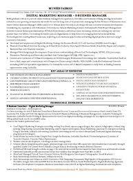 Sample Digital Marketing Resume by Digital Marketing Resume Template Virtren Com