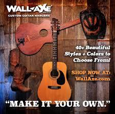 wall axe custom guitar hanger blog