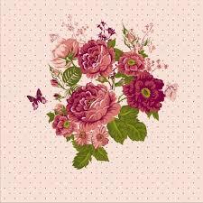 imagenes de rosas vintage fondo rosas vintage con mariposas archivo imágenes vectoriales