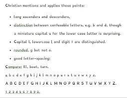 typefaces for dyslexia bda technology