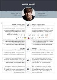 Free Resume Templates For Word by 100 Free Resume Templates Psd Word Utemplates