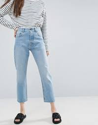 Jeans Light Wash Jeans High Waisted Distressed U0026 Skinny Asos