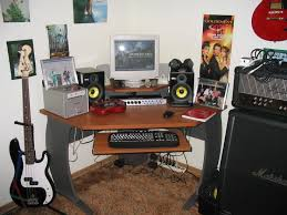 Creation Station Studio Desk Bedroom Recording Studio Equipment Design Ideas 2017 2018