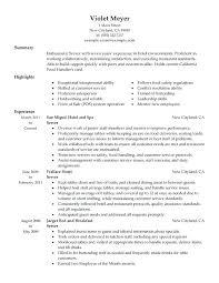 server resume objective samples u2013 topshoppingnetwork com