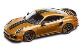 porsche model car 911 turbo s exclusive series u2013 limited edition golden yellow