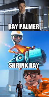 Despicable Me Meme - shrink ray palmer the atom a marvel meets despicable me meme by