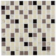 instant mosaic tile flooring the home depot