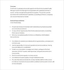 Sample Event Planner Resume Objective by Event Planner Resume Template U2013 11 Free Samples Examples Format