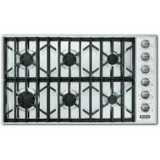 viking vgsu164 6b 36 inch professional series natural gas cooktop