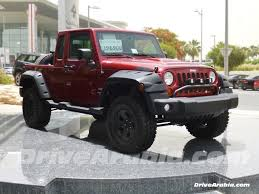 jeep wrangler pickup black dealer modified 2013 jeep wrangler models in uae drive arabia