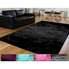 Furry Black Rug Purple Shag Rugs U0026 Area Rugs For Less Overstock Com