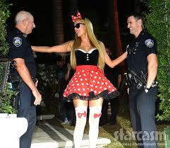 Halloween Costumes Minnie Mouse Photos Paris Hilton Minnie Mouse Playboy Bunny Halloween