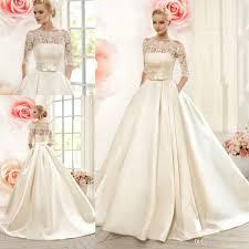 discount 2016 naviblue wedding dresses with pockets off shoulder 1