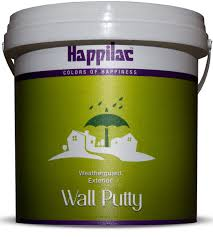 exterior wall putty happilac paints color of happiness