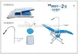 Used Portable Dental Chair Dental Supply Full Foldable Used Portable Dental Chair With Led