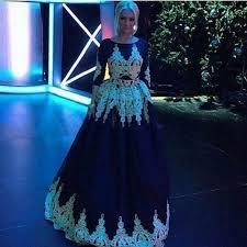 Black And Gold Lace Prom Dress Aliexpress Com Buy Elegant Black Tulle Gold Lace Prom Dresses