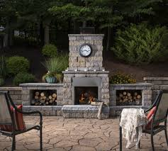 Belgard Patio Pavers by Seagull Lighting In Patio Other Metro With Fireplace Landscaping
