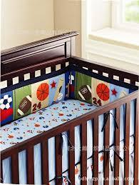 Sport Crib Bedding 3d Printing Embroidery Basketball Football Baseball Pattern Baby