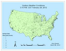 United States On A Map by Kory U0027s Weather Blog Images Videos