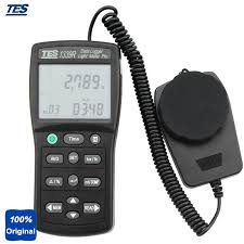light intensity data logger tes 1339r digital lux light meter accurate and instant response