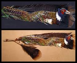 turkey feather painting pheasant feather painting by novawuff on deviantart pheasants for