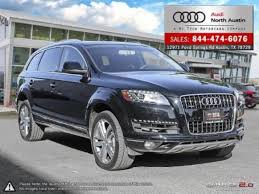 used white audi q7 for sale edmunds