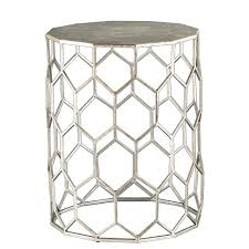 Silver Accent Table Metal Accent Table Antique Silver Aiden Target