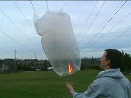 How To Make Paper Air Balloon Lantern - sky lantern air balloon