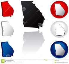 State Flag Georgia State Of Georgia Icons Stock Vector Image Of American 5086865