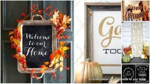 thanksgiving door ideas 24 smart thanksgiving diy door art and wall art that will greet