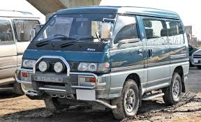 mitsubishi delica space gear mitsubishi delica history of model photo gallery and list of