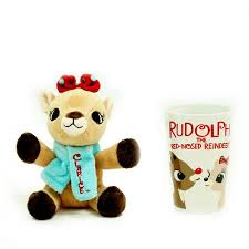 holiday christmas decor rudolph red nose reindeer clarice