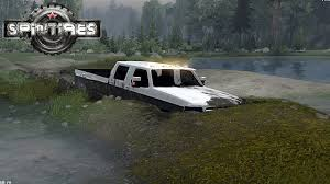 mud truck diesel brothers spintires ford dually stuck in mud diesel brothers ford obs youtube
