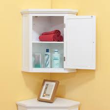 Corner Bathroom Mirror Cabinet Inspiring Corner Bathroom Cabinet Wall Mounted Things Of In