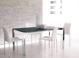 Glass And Chrome Dining Table Dining Table Square Metal Dining Table Legs With Glass Top And