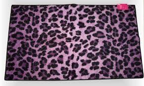 ebay area rugs target xhilaration leopard cheetah cat exotic purple black room